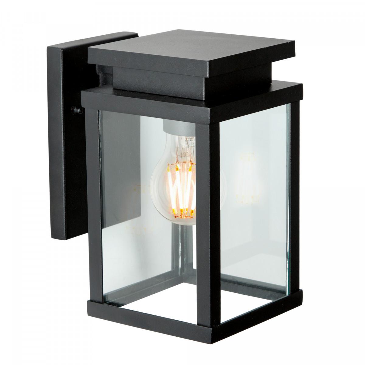 wandlamp jersey M, buitenverlichting, gevelverlichting van KS Verlichting, een strak klassiek zwarte buitenlamp van top kwaliteit, merk KS Verlichting