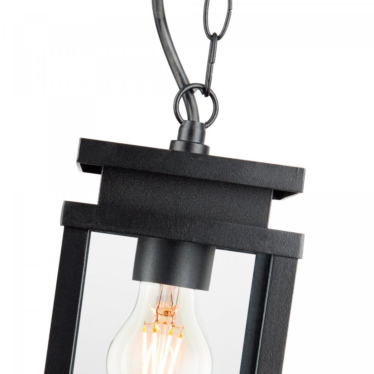 hanglamp jersey aan ketting, strak klassieke buitenverlichting, tijdloos en strak klassieke kettinglamp, verandalamp van KS Verlichting