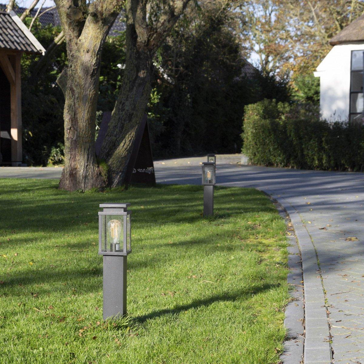 tuinverlichting, tuinlamp jersey terras lantaarn stijlvol strak klassieke tuinlamp een originele buitenverlichting van KS Verlichting