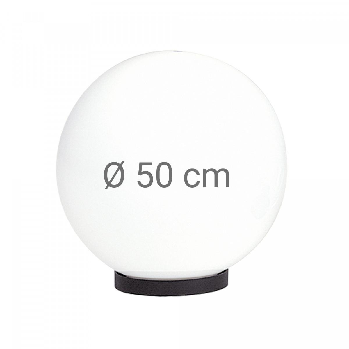 Globe 50 bol opaal wit