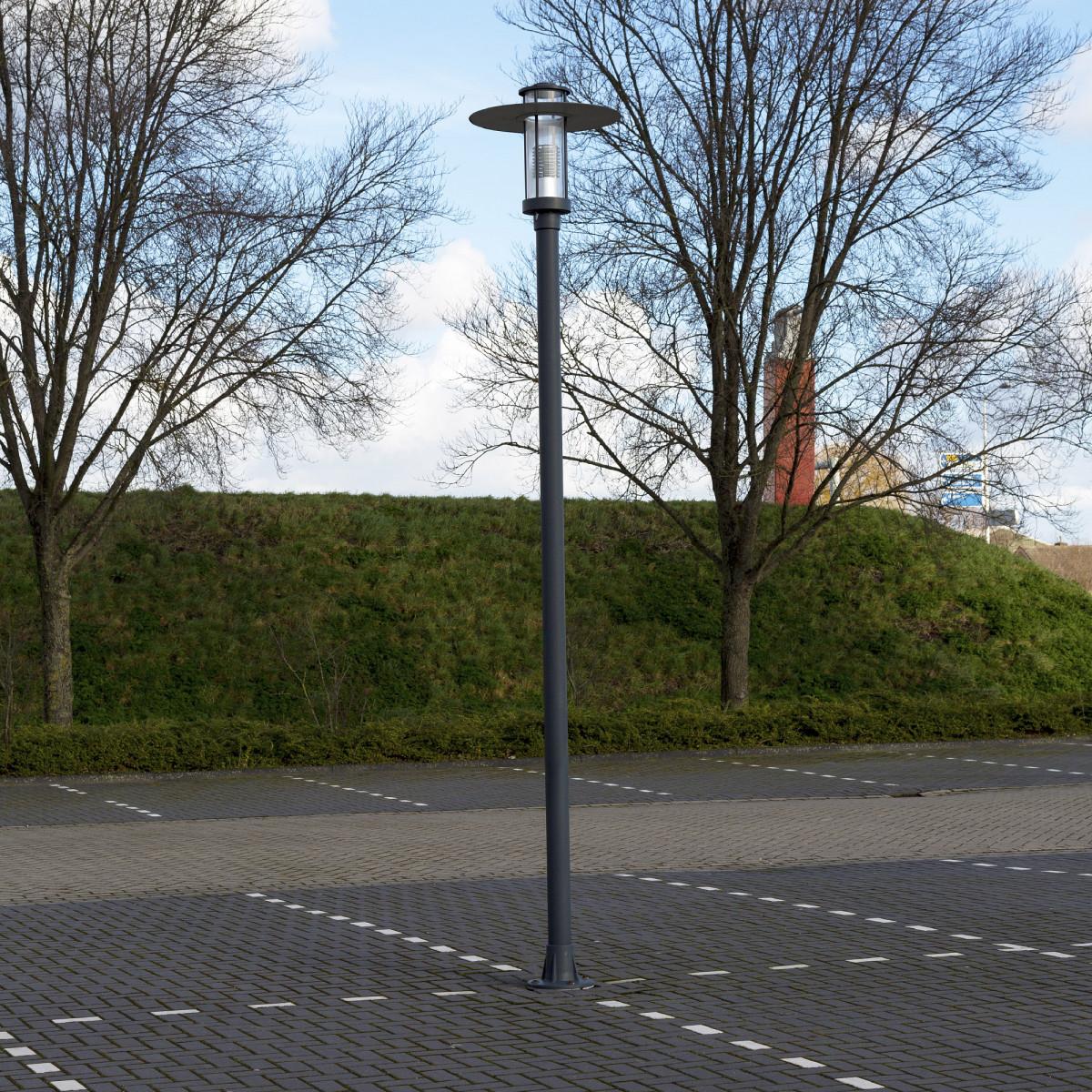 Straatlantaarn Parkline 1 + paal