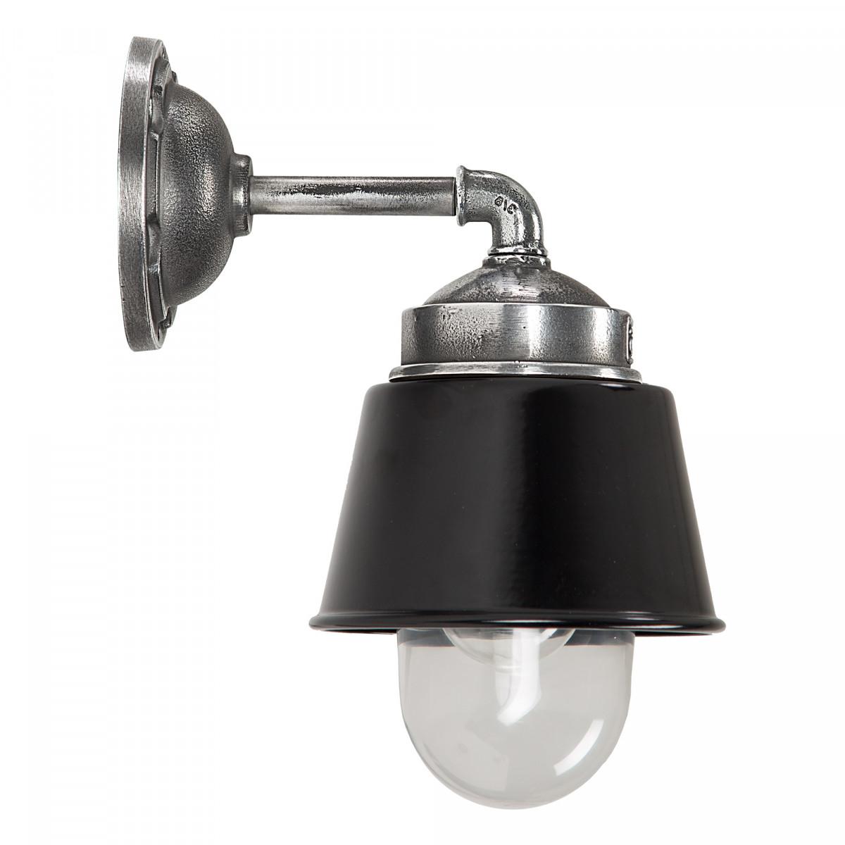 Wandlamp Kostas 90 Zwart