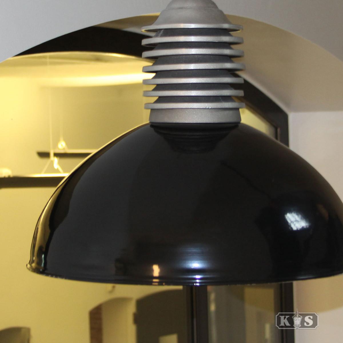 Kettinglamp Old Industry Zwart