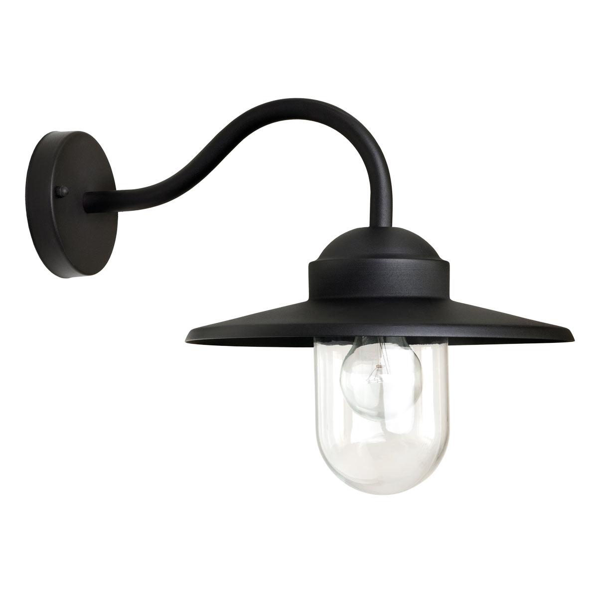 Muurlamp Dolce zwart