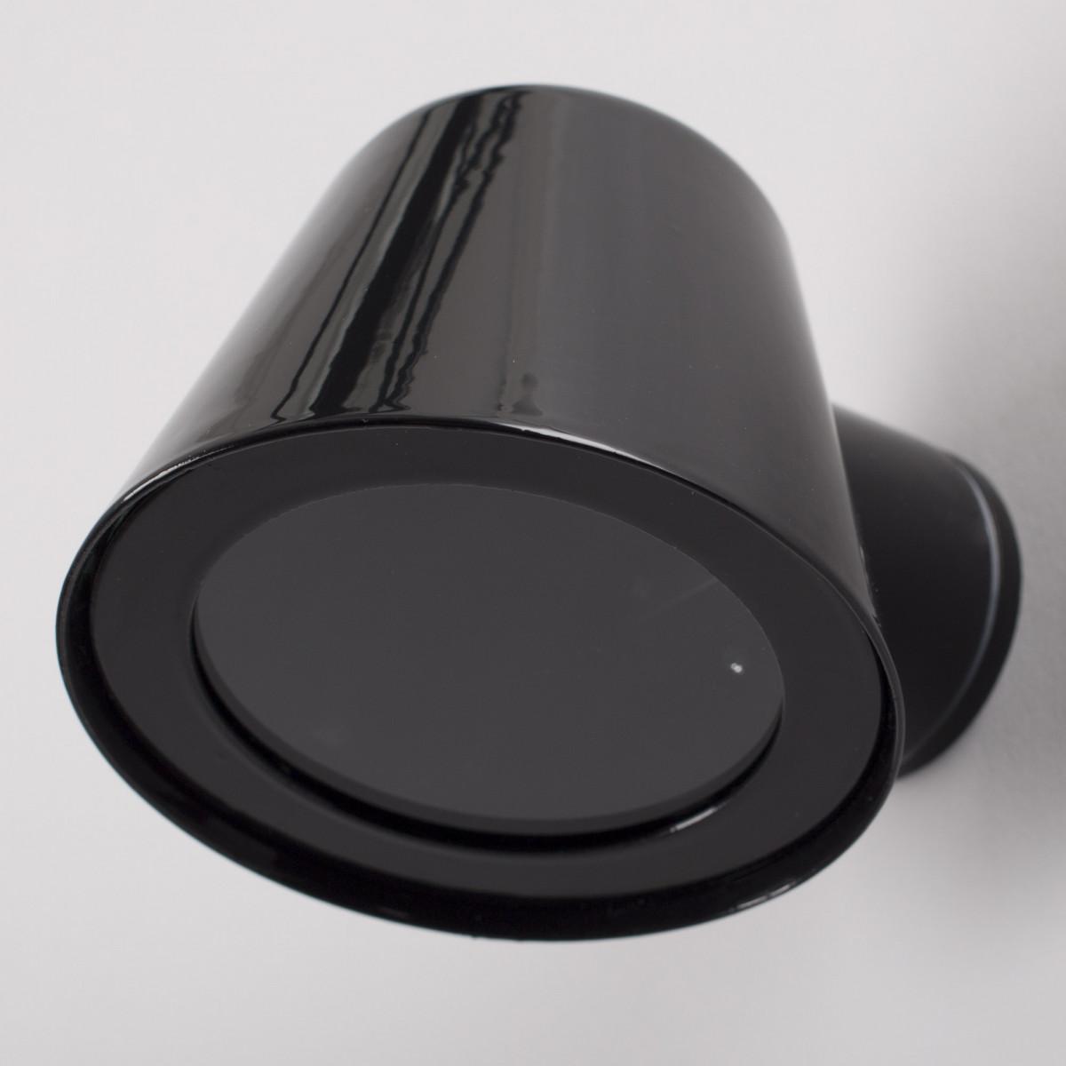 Muurspot Vita Cup Zwart