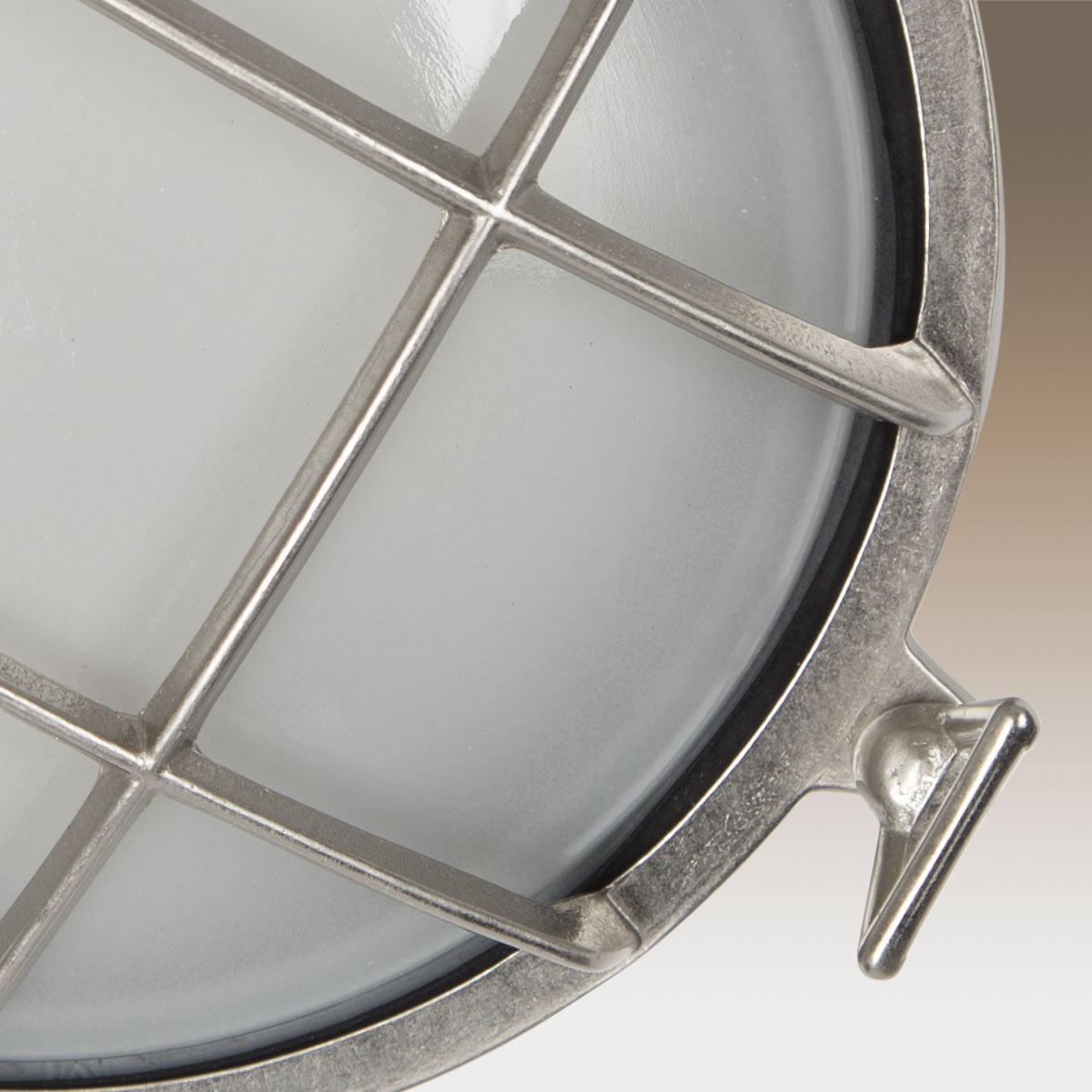 Scheepslamp Portsmouth Nikkel