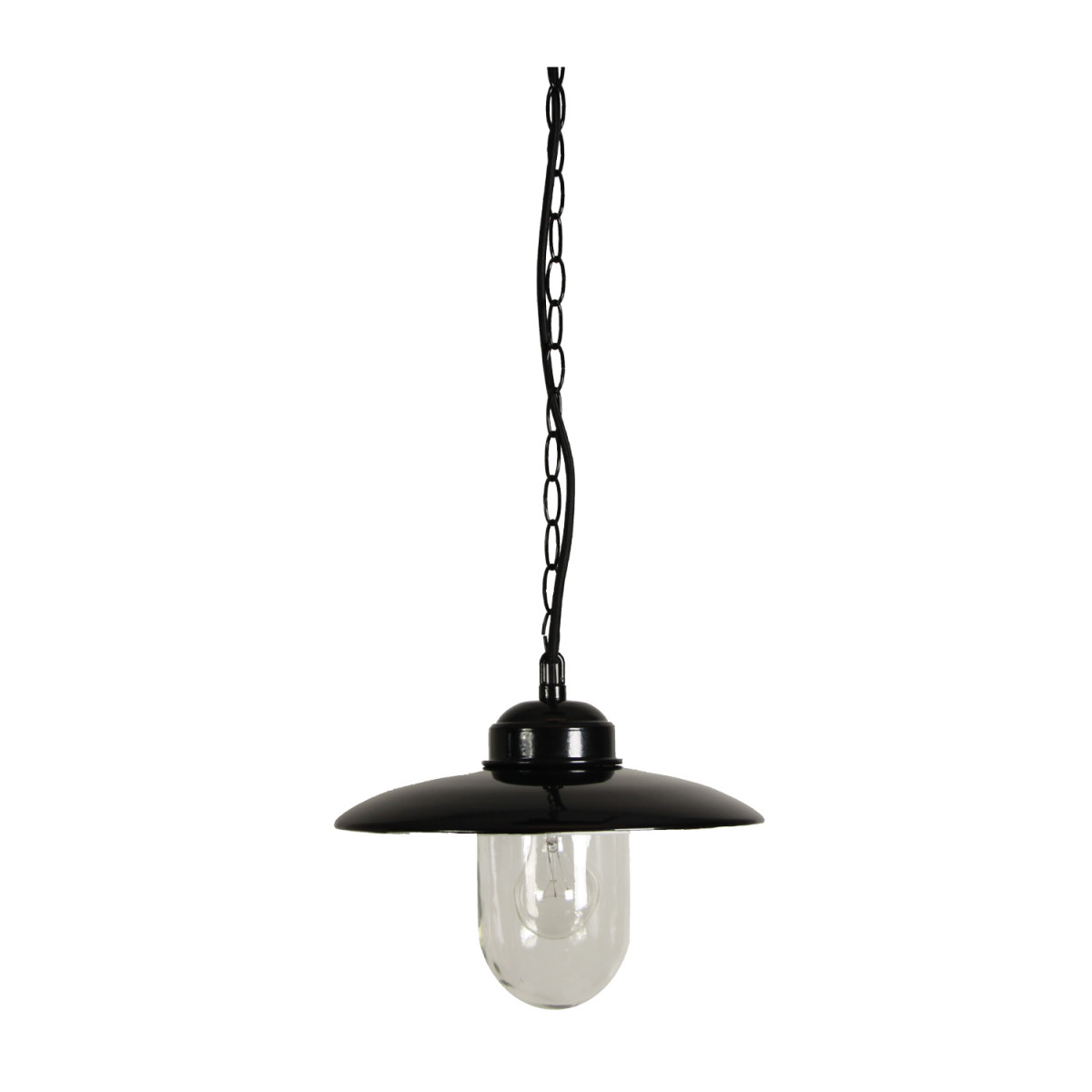 Stallamp Solingen Hang Zwart