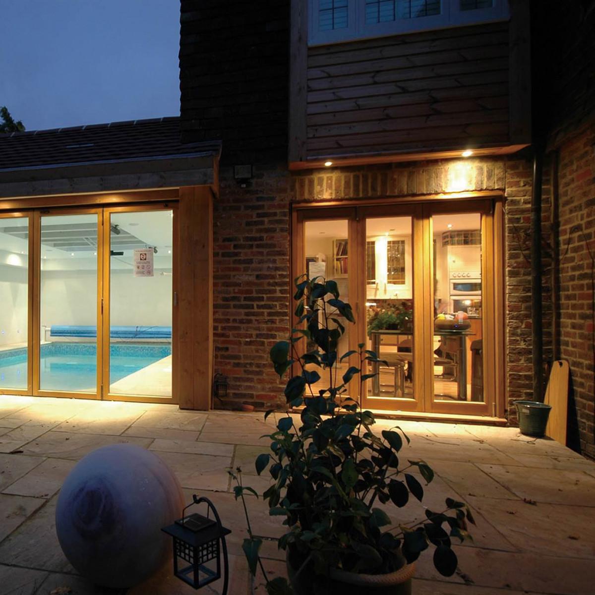 Plafond inbouw spot voor buiten - LED inbouwspot - KS Verlichting